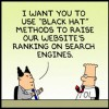 Dilbert Takes Stand Against Black Hat SEO