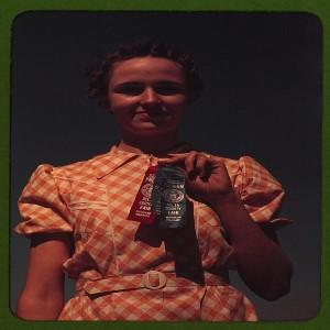 Winner at the Delta County Fair, Colorado  (LOC)